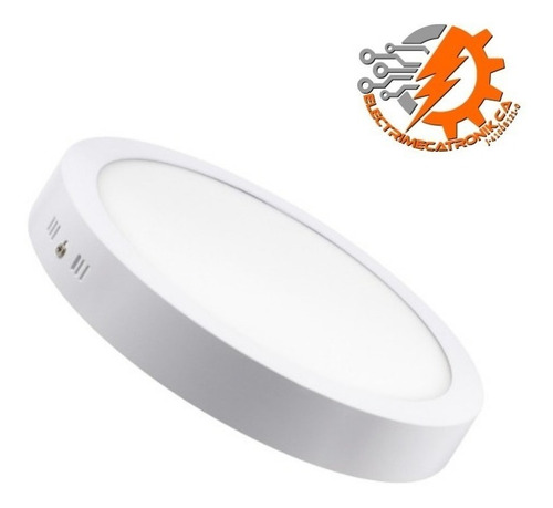lampara panel led 18w hammer superficial circular luz blanca