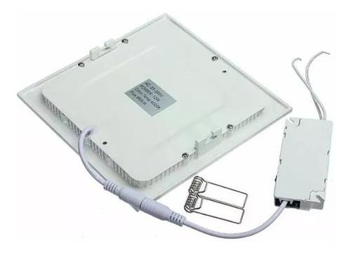lámpara panel led 18w. luz blanca, spot ojo de buey. 6500k