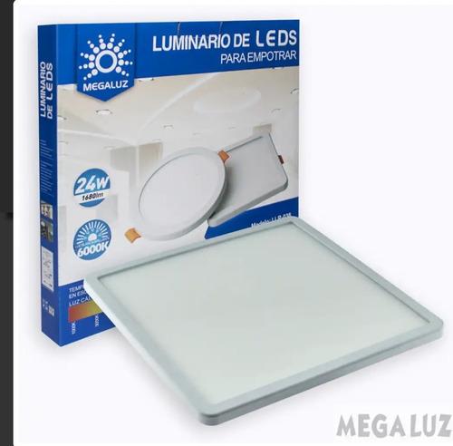 lampara panel led 24w  ajustable para botes , plafon o caja