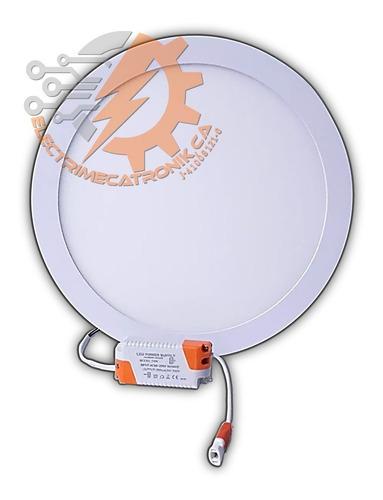 lampara panel led 24w hammer empotrable circular luz blanca