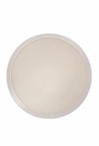 lampara panel led de sobreponer redonda 24w (150) 28 cm full
