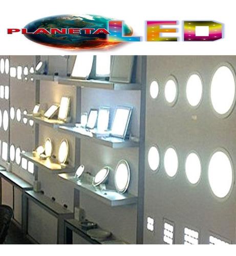 lampara panel led gypsum empotrable 3w  6w 12w 18w 24w 48w