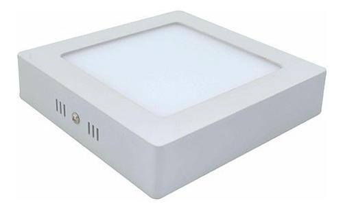 lampara panel ojos de buey spot led sobre poner d 18w oferta