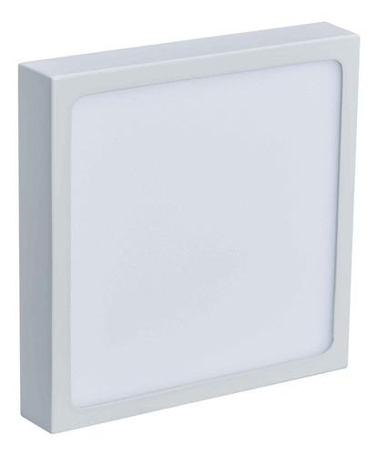 lampara panel ojos de buey spot led superficial 12w sobrepon
