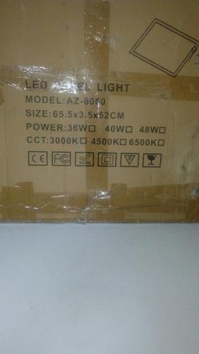 lampara panel ultra plana