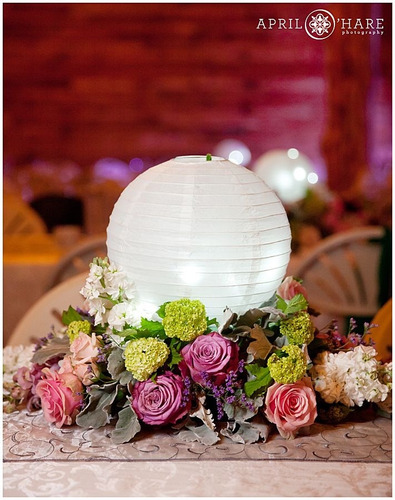 lampara pantalla china globo papel arroz farol farolito 13cm