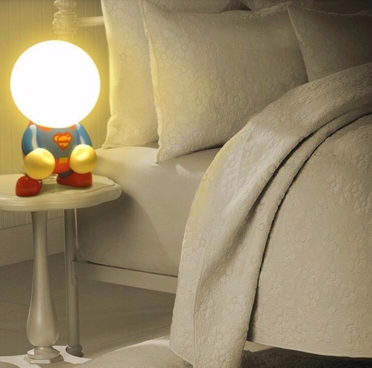 L mpara para cuarto de bebe ni o superman de led 799 - Lampara para habitacion ...