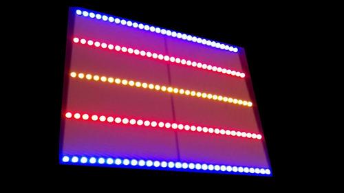 lampara para cultivo en interiores de 150 leds bilamp.