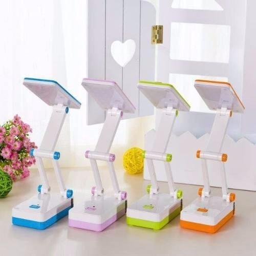 lámpara para escritorio, mesa con espejo recargable potente