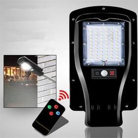 Lámpara Para Exterior Con Sensor De Movimiento Y Panel Solar