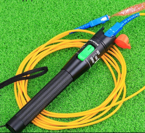 lampara para fallas en lineas de fibra optica para 30km 30mw