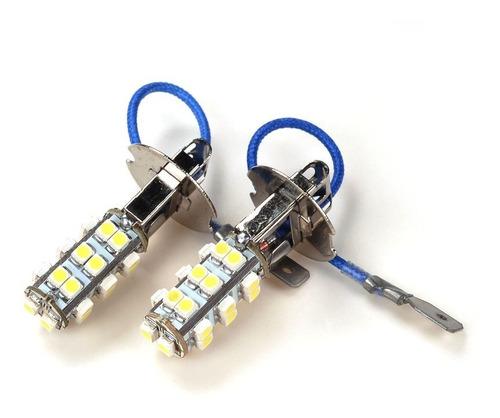 lámpara para faro delantero de auto h3 con 26 led, 2 uds.