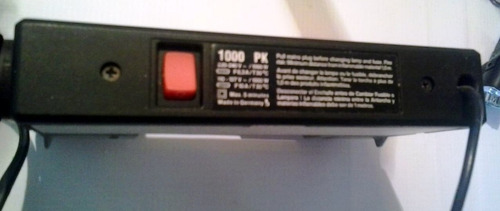 lampara para fotógrafos o cineastas made in germany 1000 pk