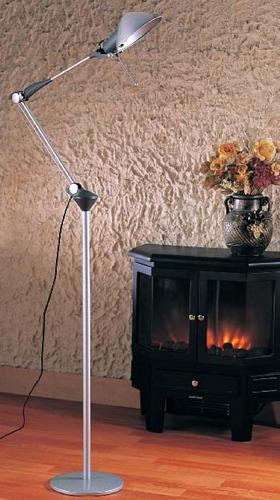 lámpara para piso - serie estudio - dirigible 1 luz