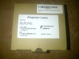 lampara para proyector epson s6 s5 elplp41