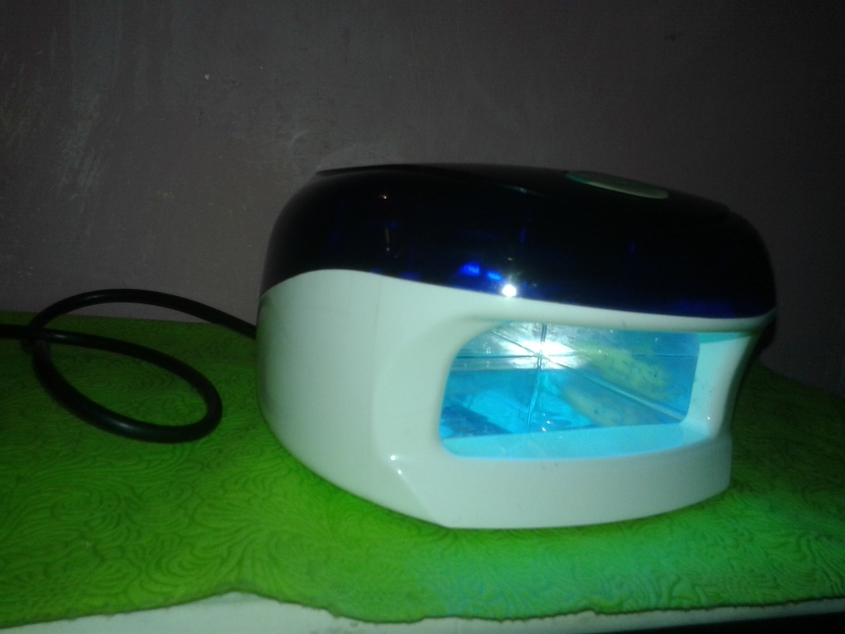 Lampara Gel Uv Para Uñas Marca Radiant - Bs. 1.800,00 en Mercado Libre