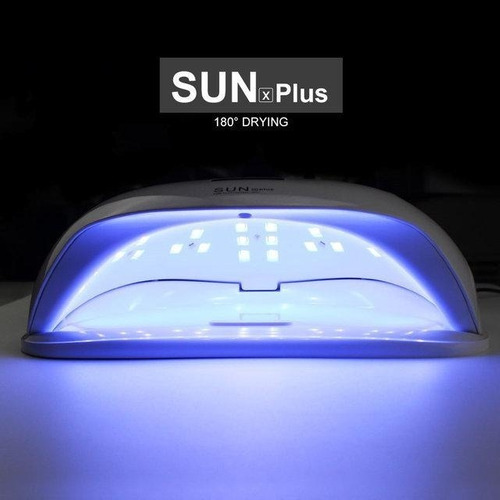 lampara para uñas uv-led sun x plus - 72 watts profesional