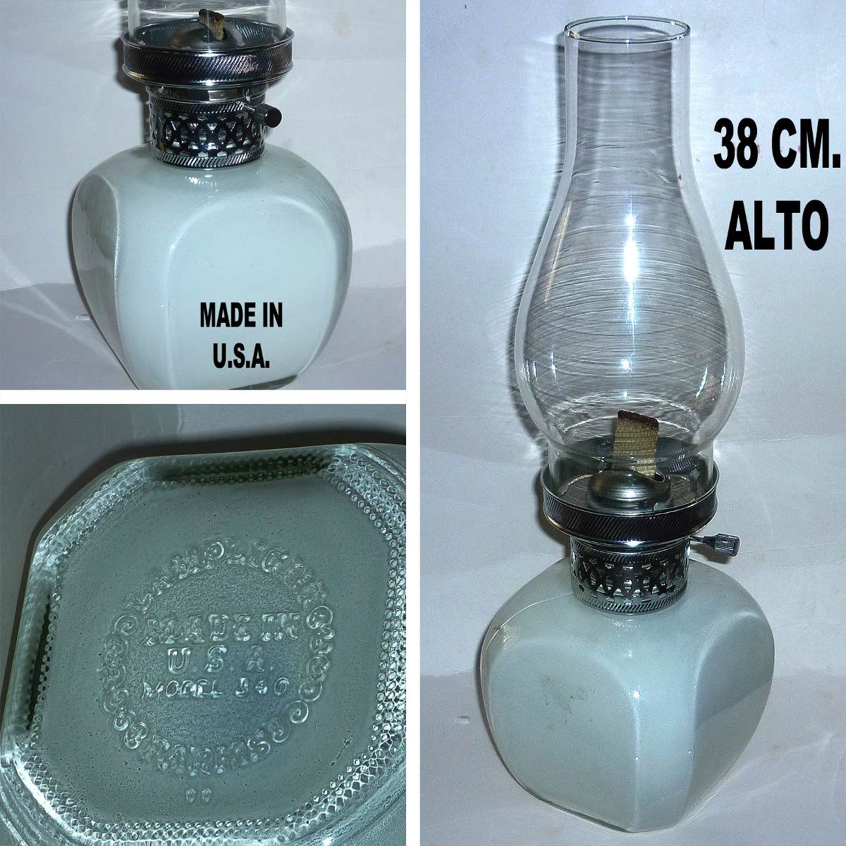 L mpara parafina retro 70 made in u s a sellada impecable - Lampara de parafina ...