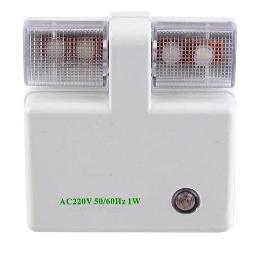lámpara pared automática luz de noche led 110-240v us on/off