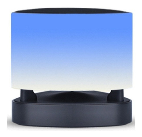 lámpara parlante ovevo - bluetooth led táctil llamadas app