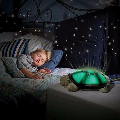 lampara peluche tortuga proyecta constelaciones
