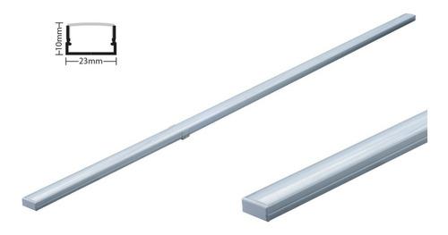 lampara perfil plano, led, luminaria led, tubo led 20w