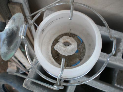 lampara p/gas butano campingaz incluye la bombona+2 mantilla