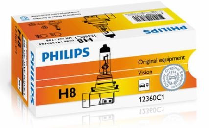 lampara philips h8 standard alemana menor precio coolwood