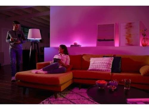 lampara philips hue go portatil white and color led