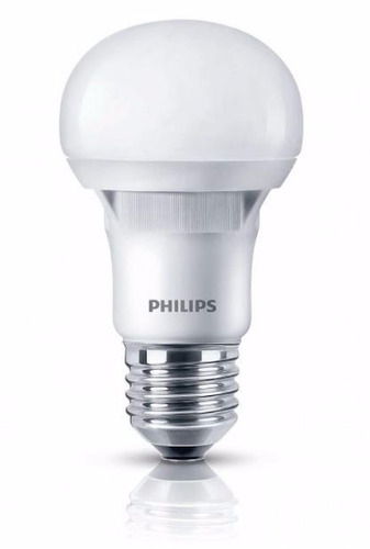 lampara philips led bulbo 6w 7w = 50w calida fria 220v e27