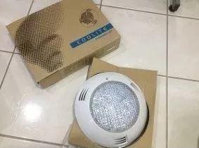 lámpara plana blanca 100 watts 25 cm 12 volts