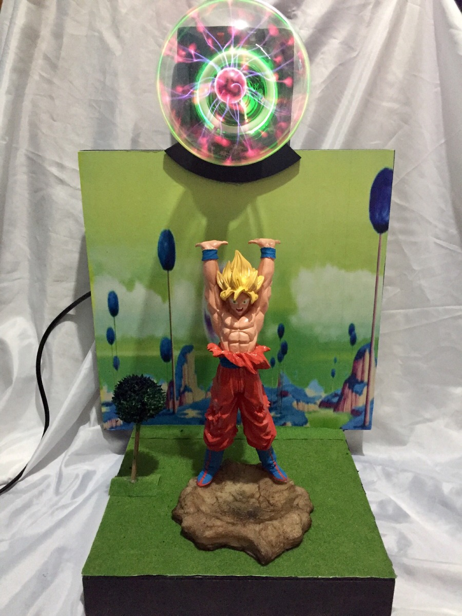 L Mpara Plasma Deluxe Goku Genkidama S Sayayin Drag N Ball Z  # Plasma De Luxe