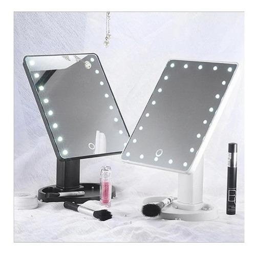 lámpara plegable led portátil espejo cosmético luminoso