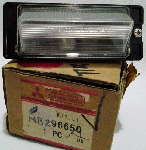 lampara porta placa orig. mitsubishi galant 2.5