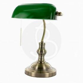 Lampara Portátil Banquero Color Verde - Lámparas Uy