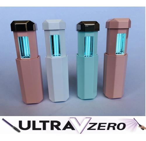 lampara portatil luz uv-c antibacterial y germicida