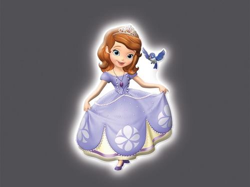 lampara princesita sofia original disney uncle milton sonido