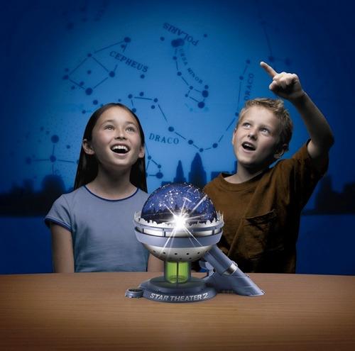 lampara proyector de estrellas star theater uncle milton