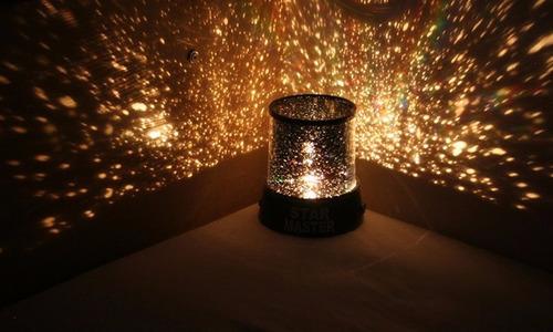 lampara proyector estrellas star master juguetes niños