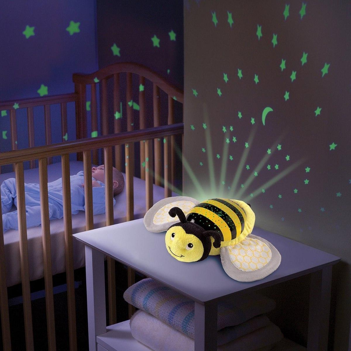 Lampara proyector para bebe con musica sumer infant abeja - Lampara de noche para bebes ...
