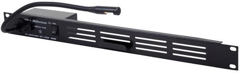 lampara rack audio estudio de grabacion