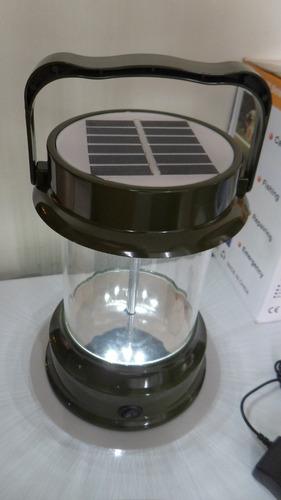 lampara recargable solar todo uso