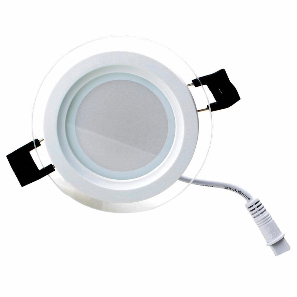 Lámpara Redonda Led Para Techo Con Regulador 12w Zhushunjia ...