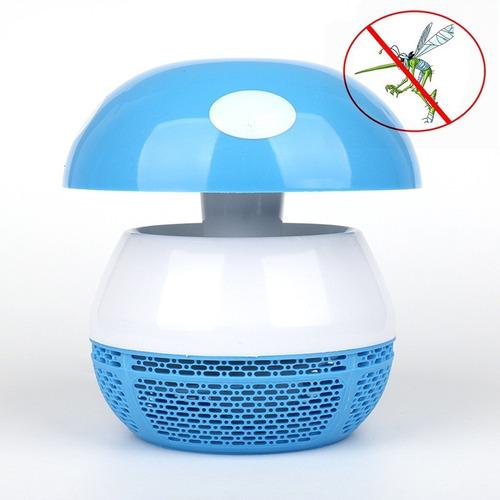 lampara repelente mata insectos zancudos moscas