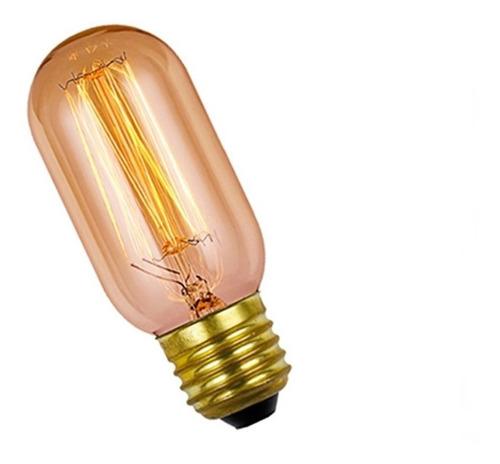 lampara retro filamento incandescente antique 25w t45 e27