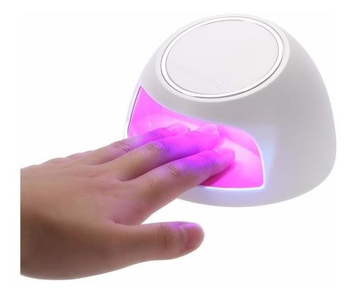 lampara secadora de uñas portátil protección uv