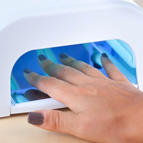 lampara secadora de uñas uv 36 watts 4 bombillos seca esmalt