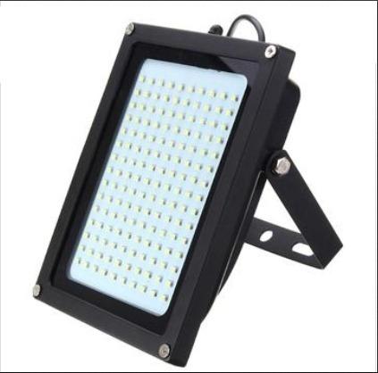 lámpara seguridad 150 led  impermeable  luz exterior solar