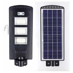 Lampara Solar 120w Lámpara De Calle Con Sensor De Movimiento