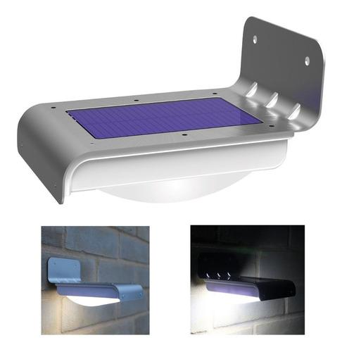 lampara solar 16 leds